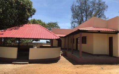 Entrega da nova maternidade e centro comunitário