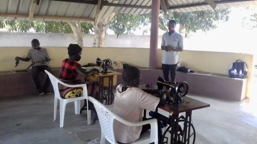 Bericht ontvangen uit Mozambique
