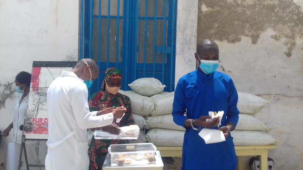 verslag van de moringa donatie aan de lokale gezondheidsposten